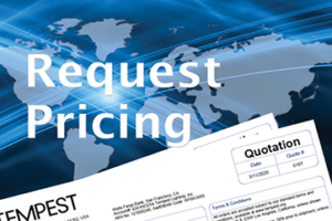Request pricing from Tempest