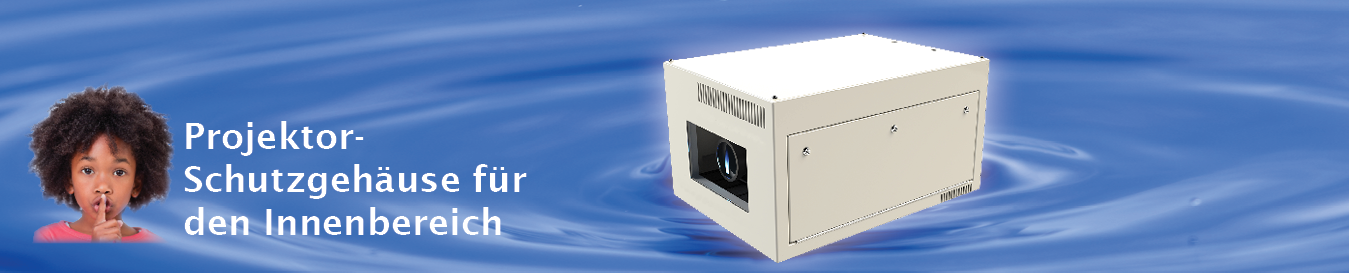 Schallschutzgehäuse für Projektoren in Innenräumen