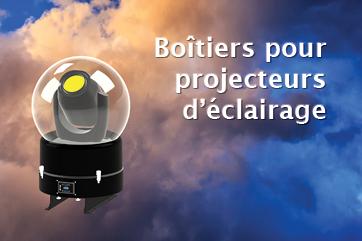 Boîtiers pour projecteurs d'éclairage Tempest